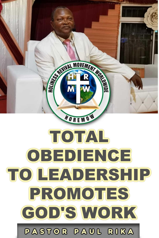 total obedience to leadership